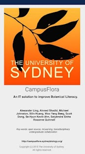 Campus Flora- screenshot thumbnail