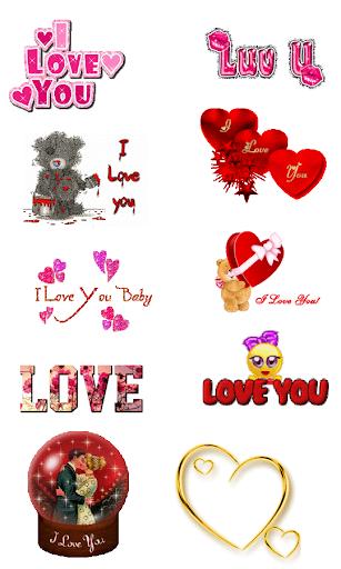 Love Gif Emoji 1.0.4 screenshots 2