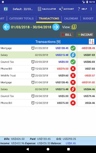 MoBill Bill Reminder screenshot 14