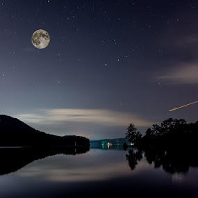 Evening catch by Andrew Savasuk - Landscapes Starscapes