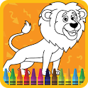 Kids Coloring Book : Cute Animals icon