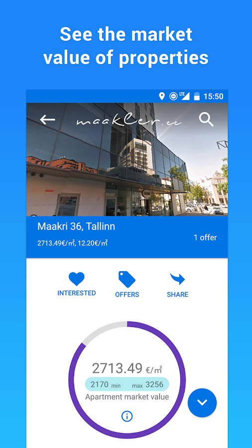 Maakler App- screenshot