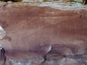 Photo: Smith Pond petroglyphs