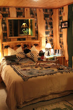 Photo: romantic bed and breakfast cabin for a romantic getaway near Lake Placid, NY  www.lodgeonlakeclear.com