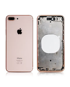 iPhone 8 Plus Housing without small parts Original Gold