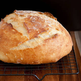 Crusty Rustic Bread (it's no knead!).