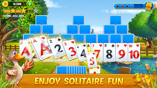 Solitaire Tripeaks: Farm Adventure apkpoly screenshots 5