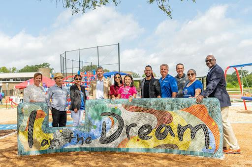 New DREAM Park Playground Opens In San Antonio's MLK Park