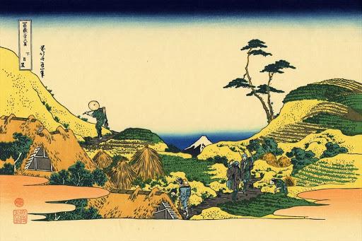 paysage art traditionnel japonais