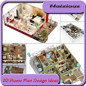 3D Home Plan Design Ideas icon
