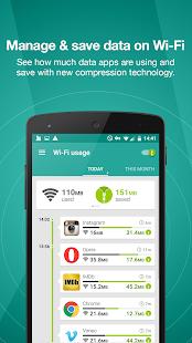 Opera Max - Data management - screenshot thumbnail