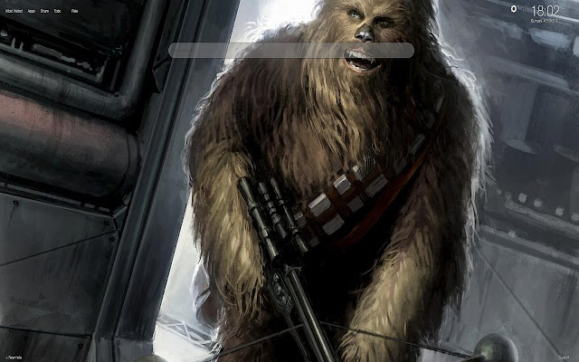 Chewbacca HD Wallpapers Tab