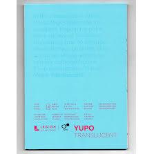 Yupo Paper 5X7 15 Sheets/Pkg - Translucent 153gsm