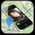 Mobile Caller Tracker Location icon