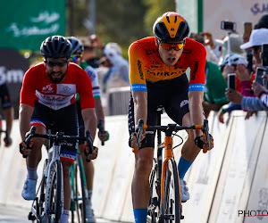 Cavendish zet ploegmaat op weg naar nipte eindwinst in Saudi Tour, Bouhanni kan feestje niet verpesten