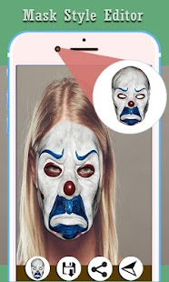Mask Photo Editor Style (faces) Screenshot