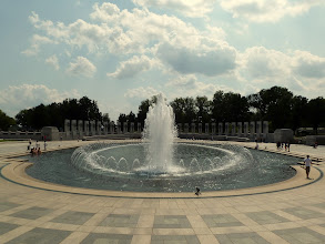 Photo: World War II Memorial.