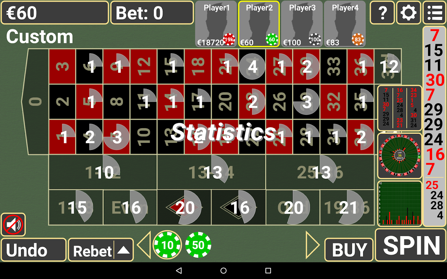 free online casino roulette  android