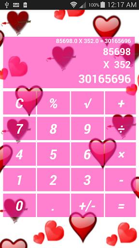 Pink Pretty Calculator Free