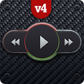 Skin for PlayerPro Carbon icon