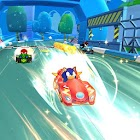 Super Chibi Sonic Kart Race icon