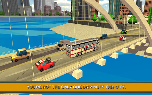 Coach Bus Simulator Craft 1.6 screenshots 1