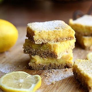 Clean Honey Lemon Bars (Dairy-Free, Nut-Free).
