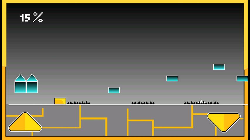 android Geometry Cube Jump Screenshot 1