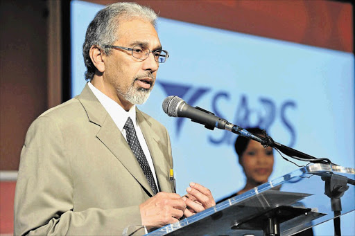 Acting SARS commissioner Ivan Pillay
