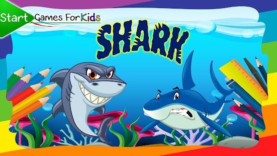 Omalovánky žraloci - náhled