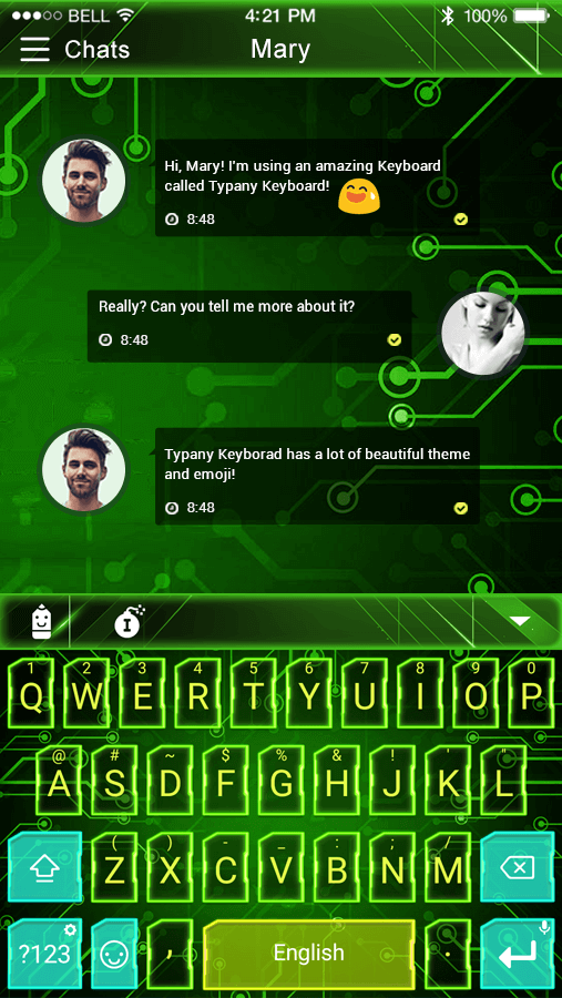 Mechanical Neon Emoji Keyboard - Android Apps on Google Play