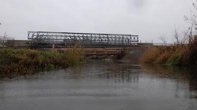 Photo: kolejne tymczasowe mostki