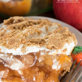 Pumpkin Apple No Bake Dessert