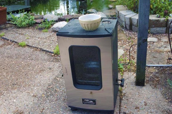 Fire up your smoker, and get it up to 250f (120c).