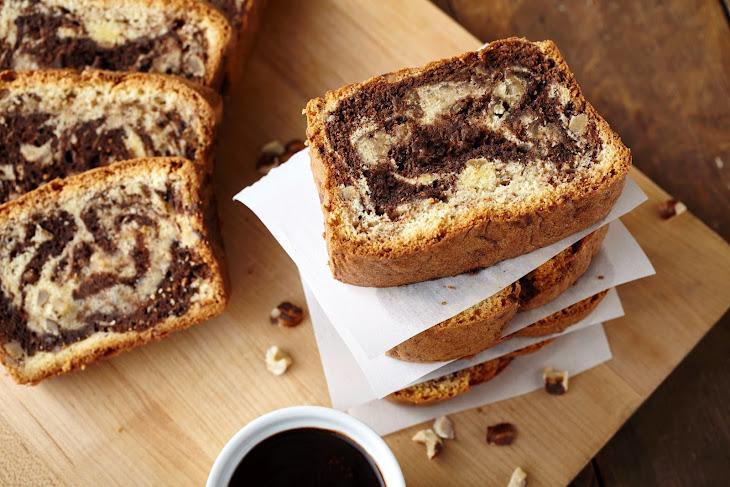 Hazelnut Chocolate Pound Cake