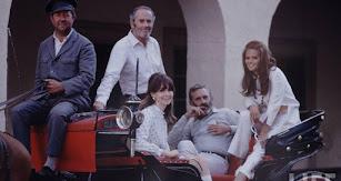 Actores en Almería, entre ellos Henry Fonda y Claudia Cardinale.