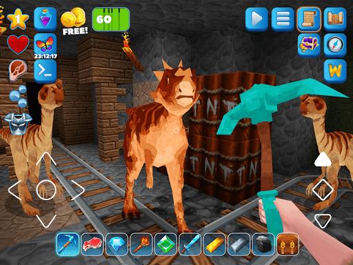 RaptorCraft 3D: Survival Craft u25ba Dangerous Worlds 5.0.4 screenshots 14
