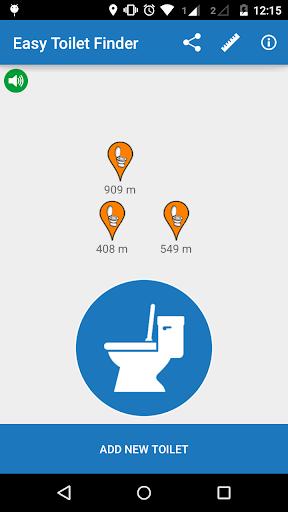 Easy Toilet Finder