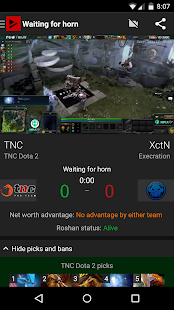 TrackDota: Live Dota Games and Esports by Dotabuff- screenshot thumbnail