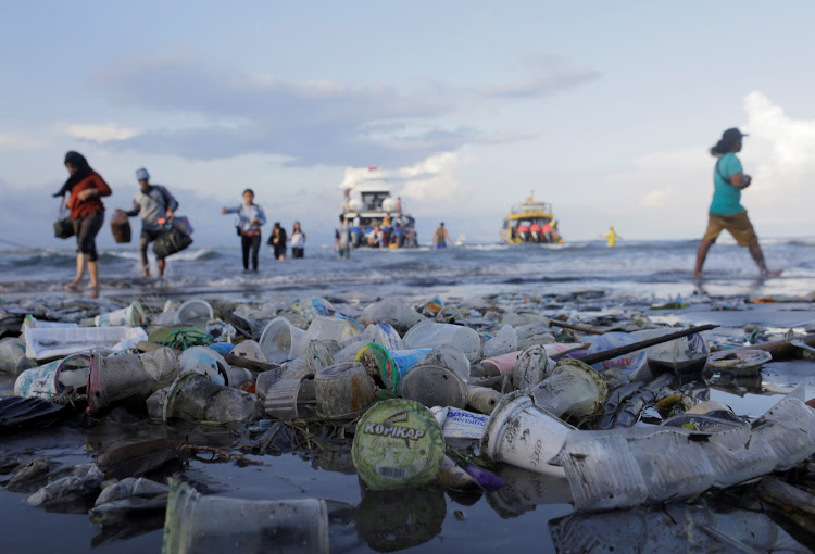 Of the 380 million tons of plastic produced globally each year, at least eight million tons end up in the sea.