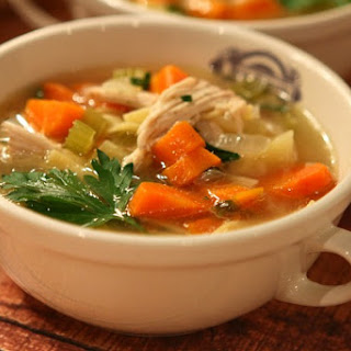 Classic Chicken Soup.