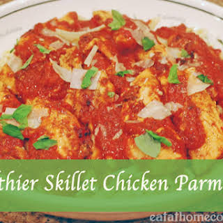 Healthier Skillet Chicken Parmesan and a chance to win $50,000 Kitchen Makeover.
