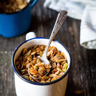 Cardamom-Spiced Granola with Tahini.