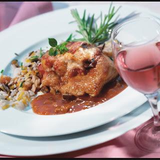 Putenschnitzel mit Ratatouille al forno
