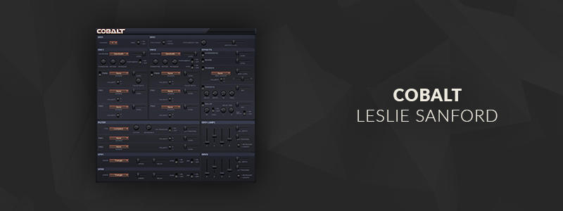 Cobalt by Leslie Sanford (VST Plugin)