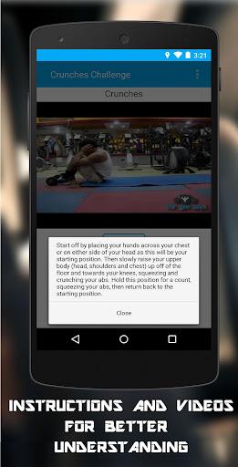 玩健康App|21日クランチチャレンジ免費|APP試玩
