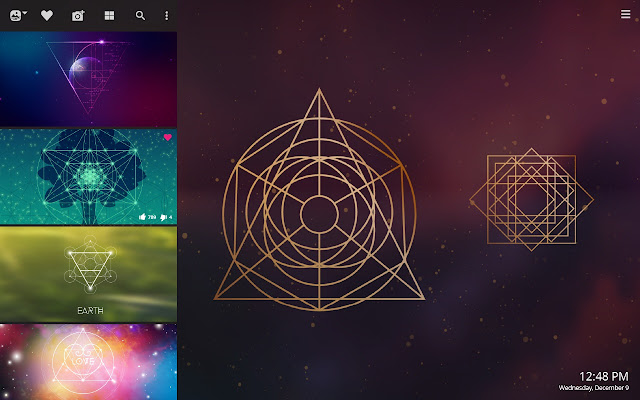 Sacred Geometry HD Wallpapers New Tab Theme