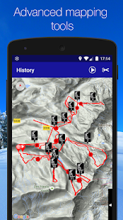 Ski Tracks- screenshot thumbnail
