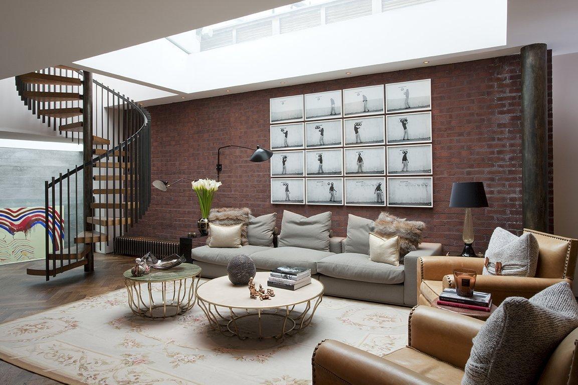 Thiết kế giếng trời cho phòng khách