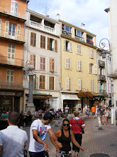 Photo: It's a very short walk into the winding streets of the Old Town, here along the main Rue de la Republique.